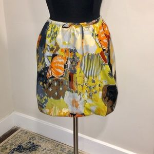 W118 by Walter Baker Mini Abstract Print Skirt